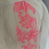 Thumbnail: BNWT Pampelone white and neon pink top age 3-4