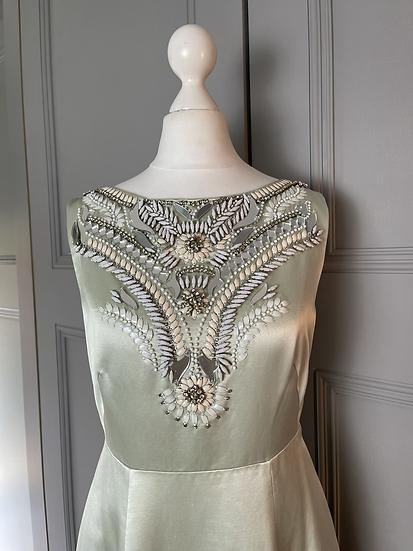 Temperley London embellished gown. UK 10