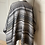 Thumbnail: Vintage Grey and black poncho/wrap