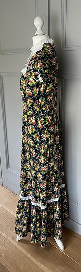 Vintage multi coloured floral dress Uk8