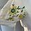 Thumbnail: Vintage white embroidered maxi dress  Uk8