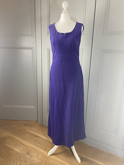 Vintage velvet feel purple maxi 12