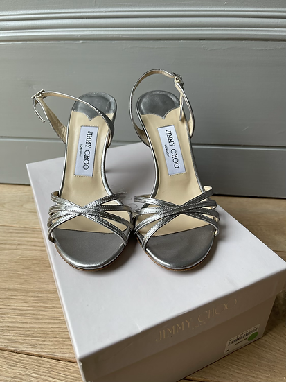 Jimmy Choo solver leather sandals size 36 rrp£595