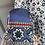 Thumbnail: Chloe cornflower blue patterned silk blouse. Uk8/10. Rep£985