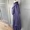 Thumbnail: Vintage brushed cotton blue/red checked prairie style midi dress. UK10/12