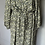 Thumbnail: BNWT H&M  green and yellow floral dress Uk M