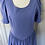 Thumbnail: Vintage Laura Ashley cornflower blue dress Uk8