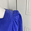 Thumbnail: Vintage Laura Ashley needlecord blue dress UK10/12
