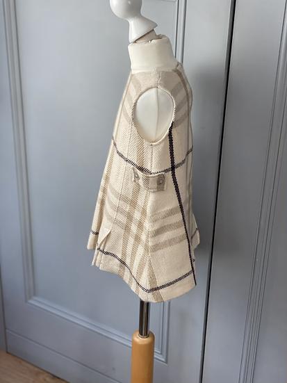 Burberry wool pinafore dress 18mths