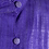 Thumbnail: Vintage 80s purple dress with large ruffle collar. UK10/12