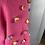 Thumbnail: Il Gufo pink Pom Pom jumper 10yrs