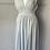 Thumbnail: Vintage grey jersey dress