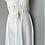 Thumbnail: Vintage white embroidered summer dress UK8-12