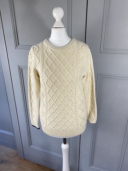 Mini Boden cream jumper 11/12yrs uk8-10