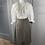Thumbnail: Vintage wool Equorian tweed skirt. UK10/12