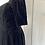 Thumbnail: Vintage Laura Ashley black velvet dress. Modern uk10