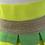 Thumbnail: Le Showroom Paris Yellow, neon striped skirt UK8-12