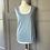 Thumbnail: Oscar de la Renta cashmere baby blue vest top.  UK 8-12 rrp£485