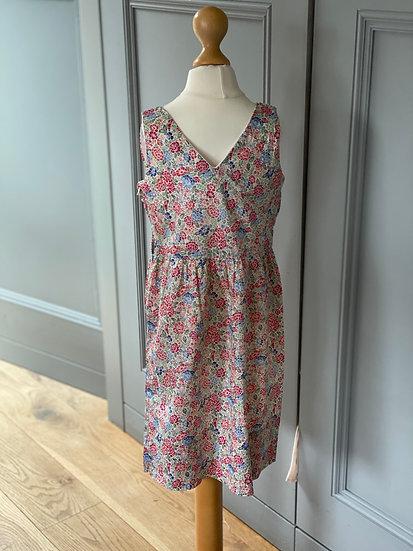 Girls vintage cotton liberty print dress 4/5/6yrs