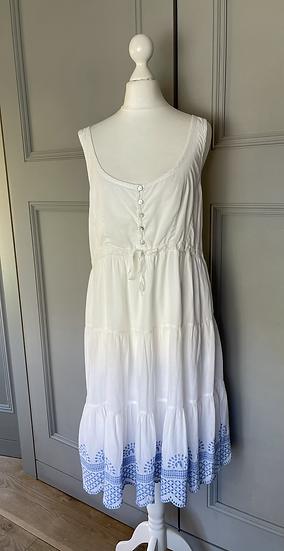 Sèraphine Maternity broderie summer dress Uk12 rrp£65