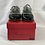 Thumbnail: Girls BONPOINT Mary Janes 29/11 black abd silver BNWT