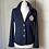 Thumbnail: Ralph Lauren navy knitted jacket/cardigan rrp£180