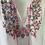 Thumbnail:  Vintage boho style embrodiered blouse UK. Large