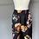 Thumbnail: Max Mara Black floral silk trousers.UK12 Rrp£340