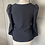 Thumbnail: Zara structured navy top BNWT. Medium