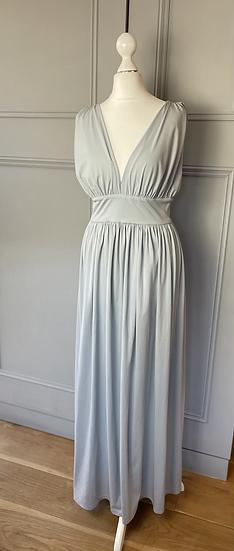 Vintage grey jersey dress