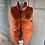 Thumbnail: Boys Ralph Lauren reversible navy/orange down gilet. 12-14YRS