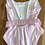 Thumbnail: BNWT Solid & Striped pink/cream swimsuit. UkM (10)