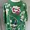 Thumbnail: ASOS green embroidered floral  dress. UK 12