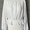 Thumbnail: H&M white embroidered top UK L