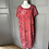 Thumbnail: Per Una Red/pink dress with embroidered floral pattern UK