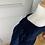 Thumbnail: Vintage navy shift dress uk12