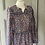 Thumbnail: Vintage 70s maxi in bright florals UK10/12