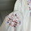 Thumbnail: Vintage white embroidered shirt UK14-16