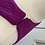 Thumbnail: Matthew Williamson silk purple dress with belt (UK 8)