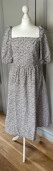 H&M floral dress Uk 12