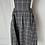 Thumbnail: BNWT Bonpoint charcoal grey girls pinnafore dress age 4