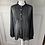 Thumbnail: Jaeger black silk blouse. 16