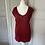 Thumbnail: Isabel Marant Etoile red t shirt Uk S rrp£110