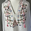 Thumbnail: Vintage White embroidered shirt UK 12-16