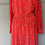 Thumbnail: BNWT  Chinti and Parker red floral dress UK 10