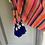 Thumbnail: Miss June (boutique beachwear) kaftan with coin detail Uk12-14