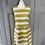 Thumbnail: Chloè yellow/white striped dress UK