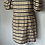 Thumbnail: H&M brown and black checked dress Uk 14