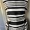 Thumbnail: Ink and Iris black/white striped dress Uk12-14