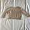 Thumbnail: Baby girls 3mths 100% pink/grey cashmere jumper